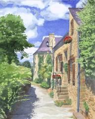 4 - Breton Cottages, La Roche-Bernard, Brittany