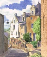 5 - Breton Merchants' Houses, La Roche-Bernard, Brittany