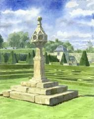 8 - Pitmedden Sundial, Aberdeenshire