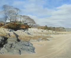 54 - Cardoness beach and rocks, towards Skyreburn