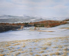 74 - Cairnsmore and Fleet Valley in the snow