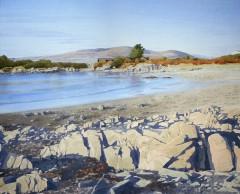 77 - Beach and rocks at Carrick Bay